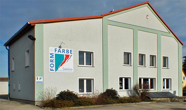 Form + Farbe GmbH Seelow - Firmensitz